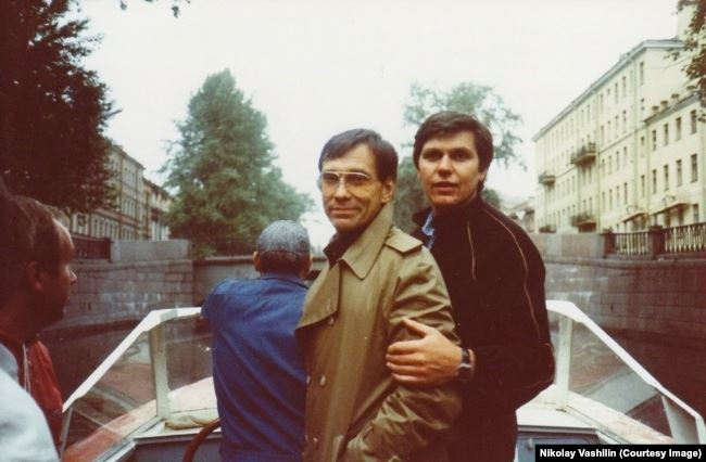 Андрей Кончаловский и Николай Ващилин
