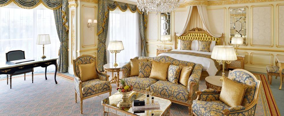 Спальня в вилле Royal. Фото: kempinski.com